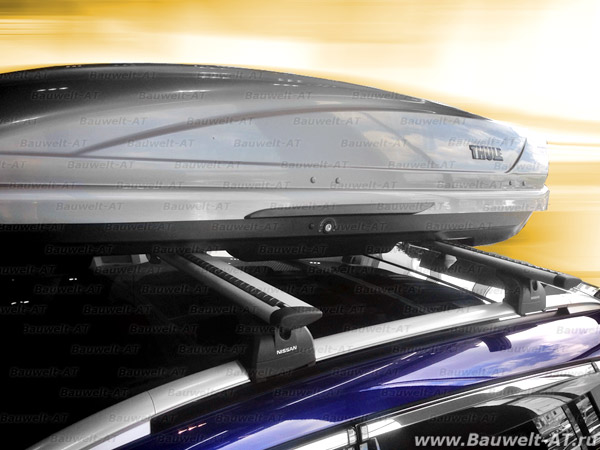 штатный багажник на крышу для nissan qashqai+2